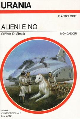 Alieni e no | Italy, Mondadori 1989 | Cover: Segrelles, Vincente
