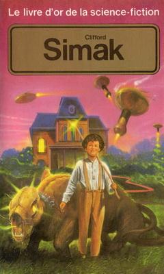 Le Livre d`Or de la science-fiction - Clifford Simak | France, Pocket 1985 | Cover: Laverdet, Marcel