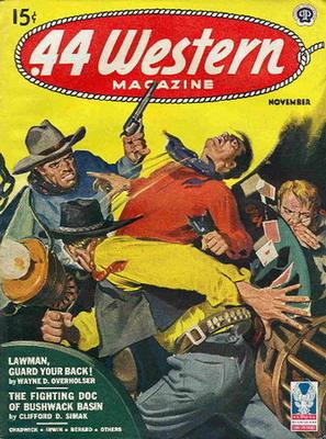 .44 Western Magazine, Nov. 1944 | USA, Popular Publications 1944