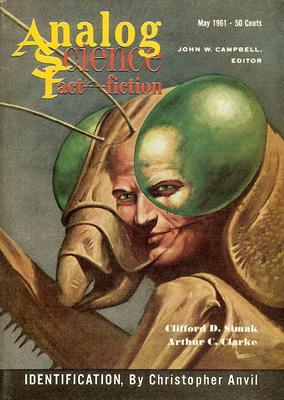 Analog Science Fact - Fiction, Mai 1961 | USA, Street & Smith 1961 | Cover: Schoenherr