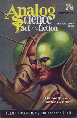 Analog Science Fact - Fiction [UK], Sept. 1961 | UK, Atlas Publishing 1961 | Cover: Schoenherr, John