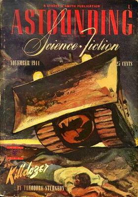 Astounding Science Fiction, Nov. 1944 | USA, Street & Smith 1944 | Titelbild: Timmins