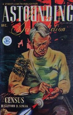 Astounding Science Fiction [Australia], Dec. 1944 | Australien, Atlas Publishing 1944 | Titelbild: Timmins, William