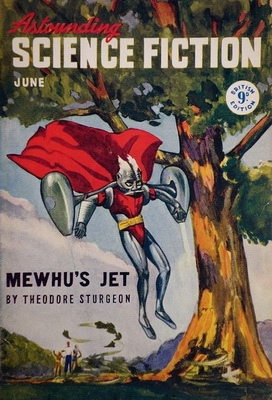 Astounding Science Fiction [UK], June 1947   UK, Atlas Publishing 1947   Cover: Timmins, William