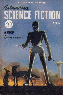 Astounding Science Fiction [UK], April 1948 | UK, Atlas Publishing 1948 | Cover: Canedo, Alejandro