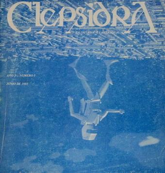 Clepsidra 5   Argentina, Ediciones Filofalsía 1985   Cover: Twen, N.O.