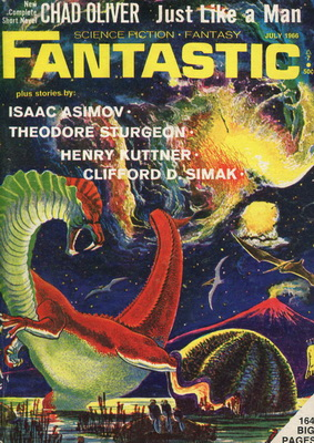 Fantastic, July 1966 | USA, Ultimate Publishing 1966 | Cover: Paul, Frank R.