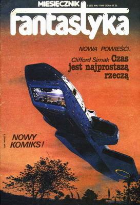 Fantastyka 5 (20) 1984 | Poland, RSW Prasa-Książka-Ruch 1984 | Cover: White, Tim