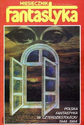 Fantastyka 7 (22) 1984 | Poland, RSW Prasa-Książka-Ruch 1984 | Cover: Berdak, Keith