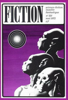 Fiction n° 221, Mai 1972 | France, Opta 1972 | Cover: Caza, Philippe