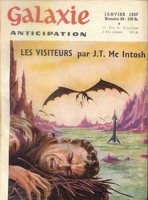 Galaxie N° 38, Jan. 1957   France, Nuit et Jour 1957   Cover: Emsh, Ed