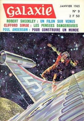 Galaxie N° 9, Jan. 1965 | France, Opta 1965 | Cover: Schelling