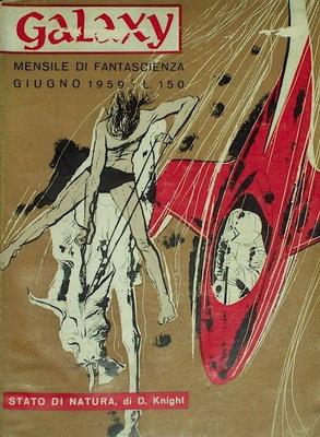 Galaxy, Giugno 1959 | Italy, La Tribuna 1959 | Cover: Crepax, G.