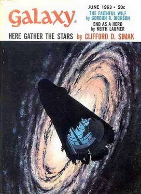Galaxy Magazine, June 1963 | USA, Galaxy Publishing Corporation 1963 | Cover: McKenna