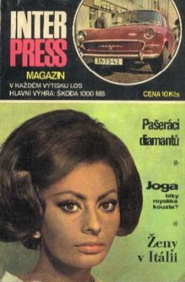 Interpress Magazín 1968 | Czechoslovakia, Mezinárodní organizace novinářů 1968