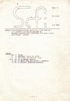 Scfi 1982/5 | Czechoslovakia, SFK Villoidus (MFF UK) 1982